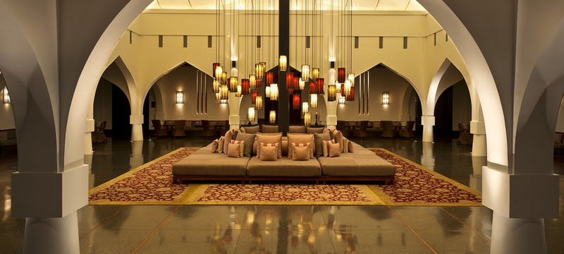 Lobby area, The Chedi Muscat, Oman