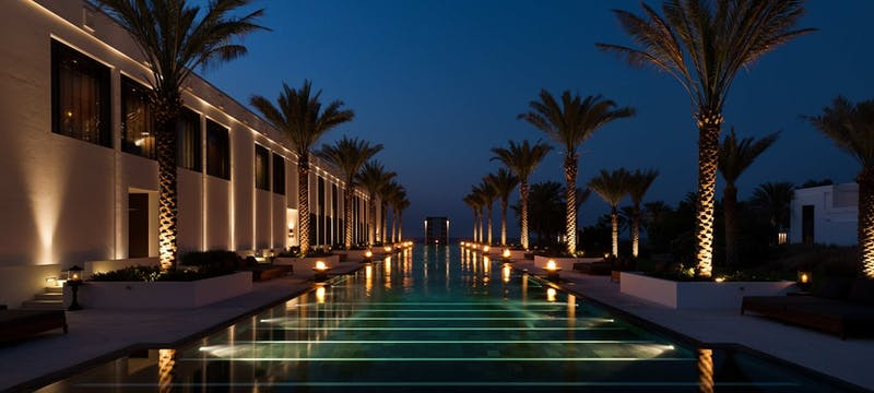 entrance, The Chedi Muscat, Oman