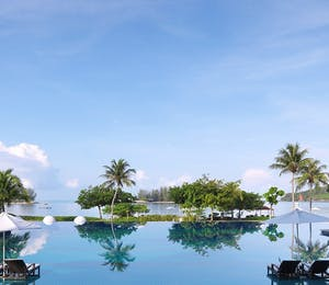 Swimming pool at The Danna Langkawi