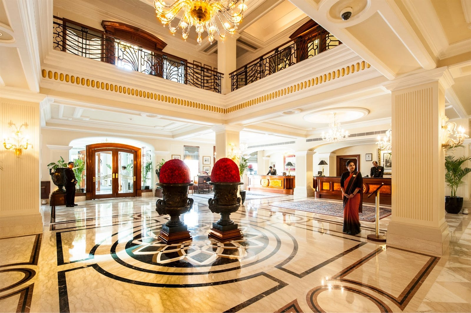 lobby of the imperial new delhi