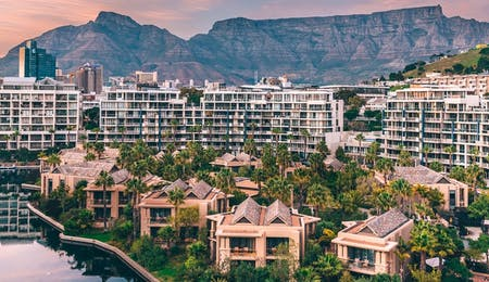 Exterior of One & Only Cape Town, South Africa