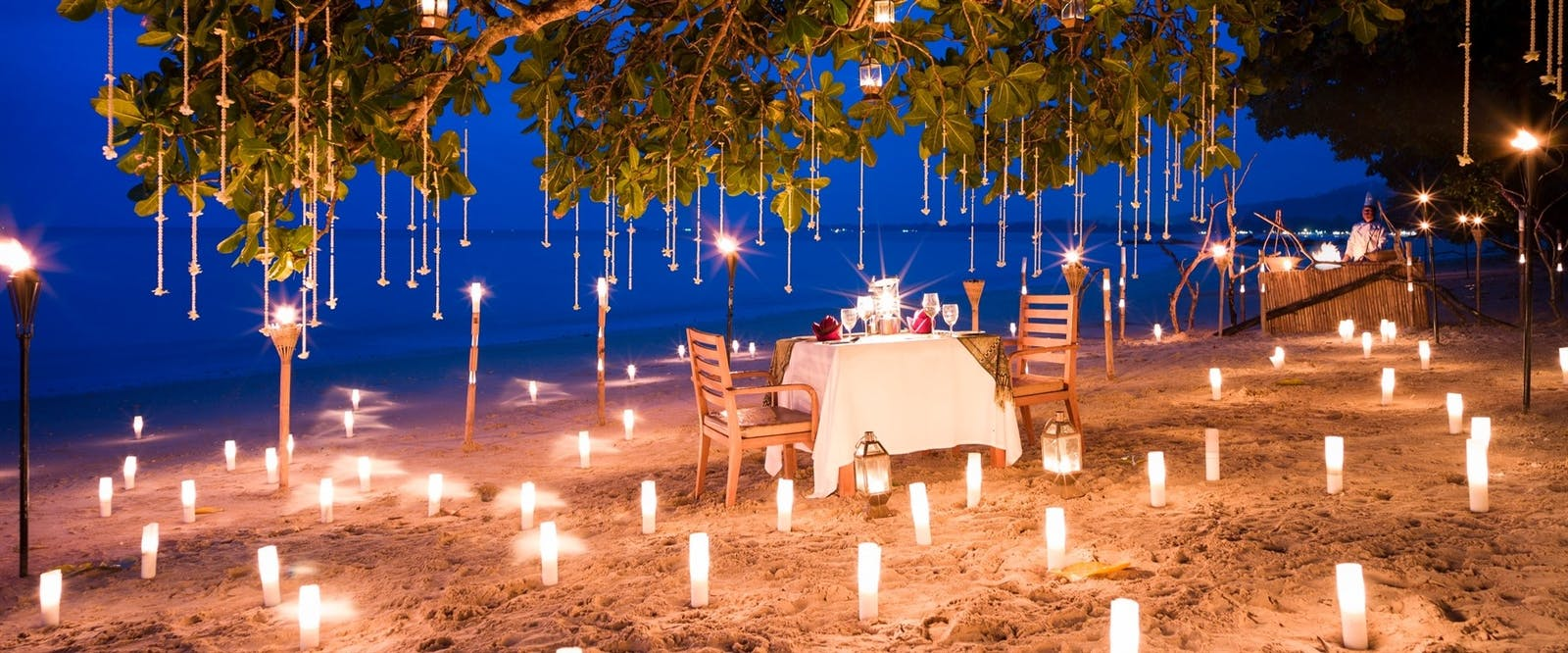 Private Dining Beach at The Sarojin, Thailand
