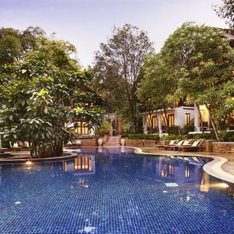 swimming pool at Tubkaak Krabi Boutique Resort