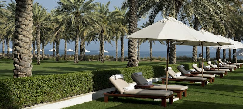 pool area, The Chedi Muscat, Oman