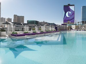 the pool at cosmopolitan of las vegas