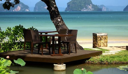 View From The Arundina Restaurant at Tubkaak Krabi Boutique Resort