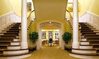 Entrance Hallway and Grand Staircase at Vanderbilt Grace, New England