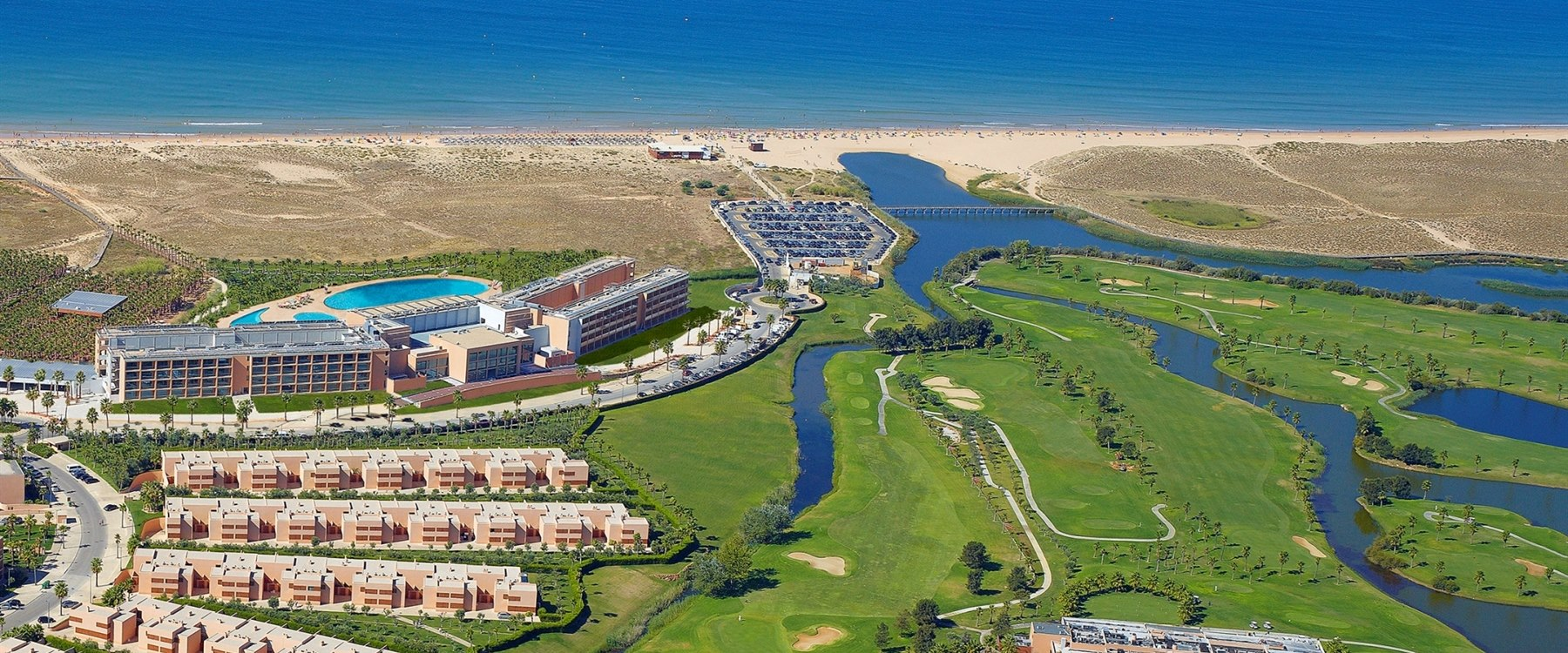Aerial View of Vidamar Resort Algarve