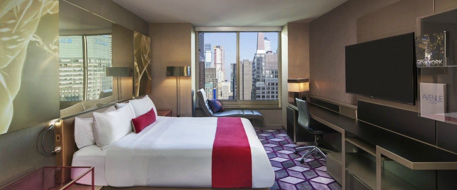 Bedroom At W New York - Times Square