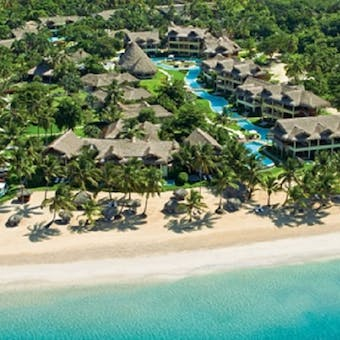 pool and accommodation at zoetry agua punta cana