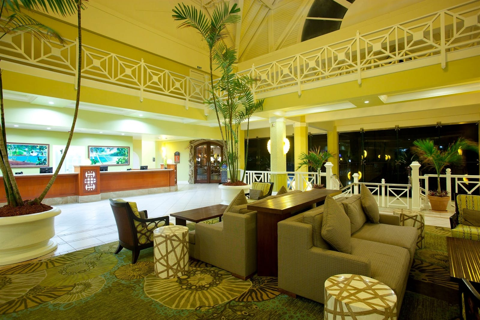 The Lobby of Magdalena Grand Beach & Golf Resort