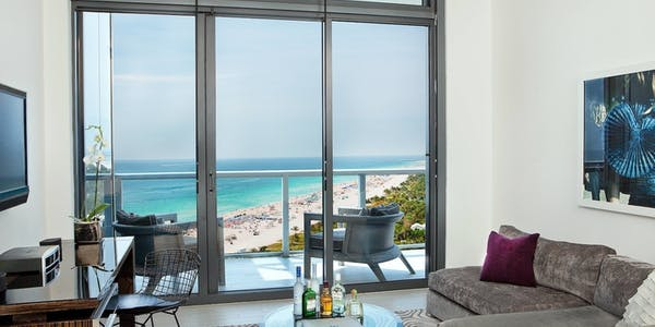 Fantastic Bedroom Suite, W South Beach