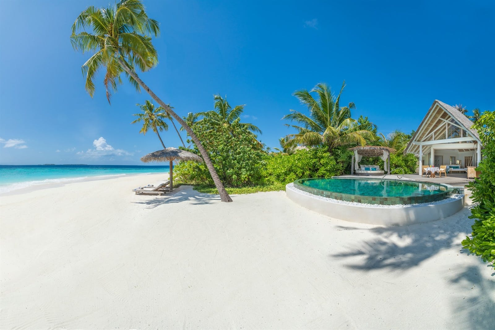 Beach Pool Villa at Milaidhoo, Maldives