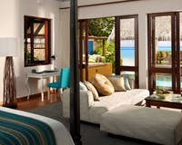 Oceanfront Bungalow with Pool at Four Seasons Resort Maldives at Landaa Giraavaru