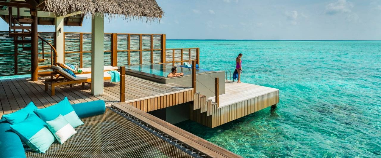 Sunset Water Villa at Four Seasons Resort Maldives at Landaa Giraavaru