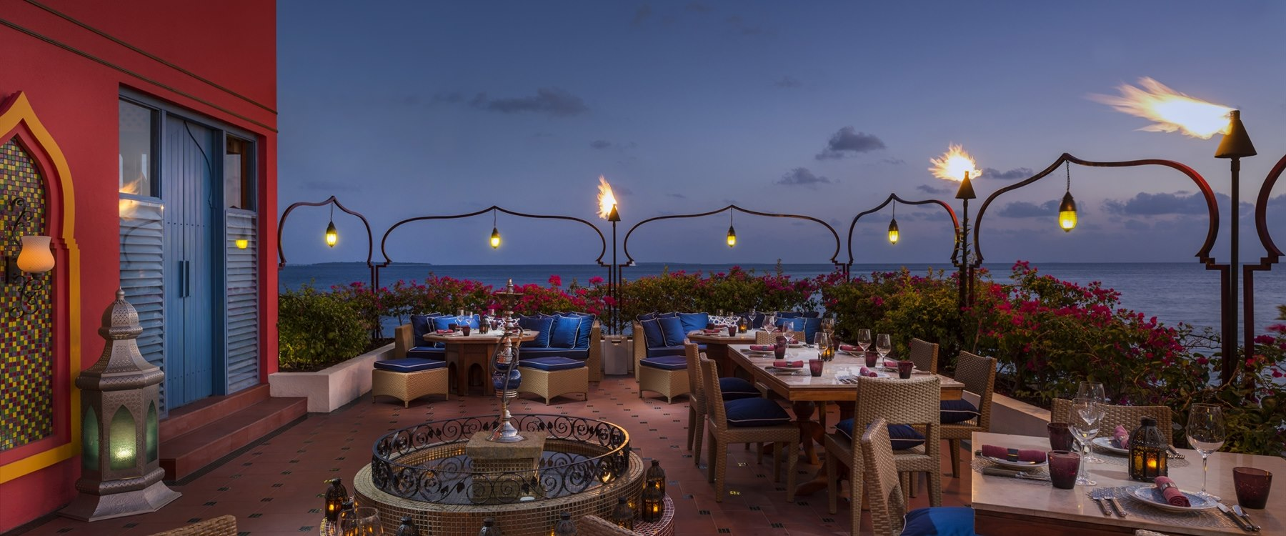 Al Barakat Restaurant at Four Seasons Resort Maldives at Landaa Giraavaru