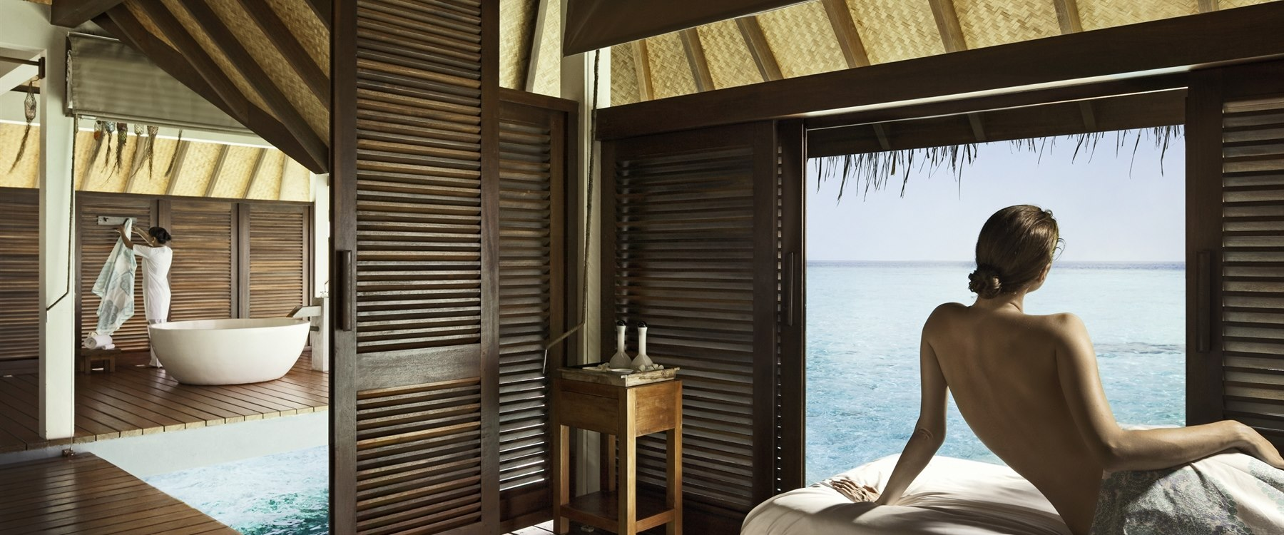 Spa Treatments at Four Seasons Resort Maldives at Landaa Giraavaru