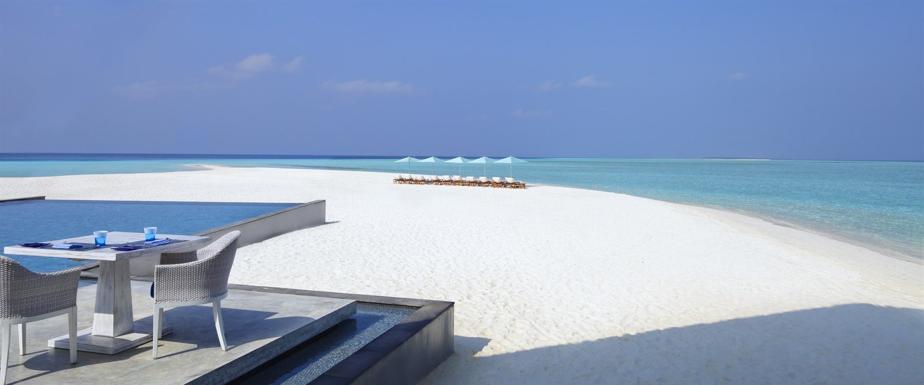 Beachfront at Four Seasons Resort Maldives at Landaa Giraavaru