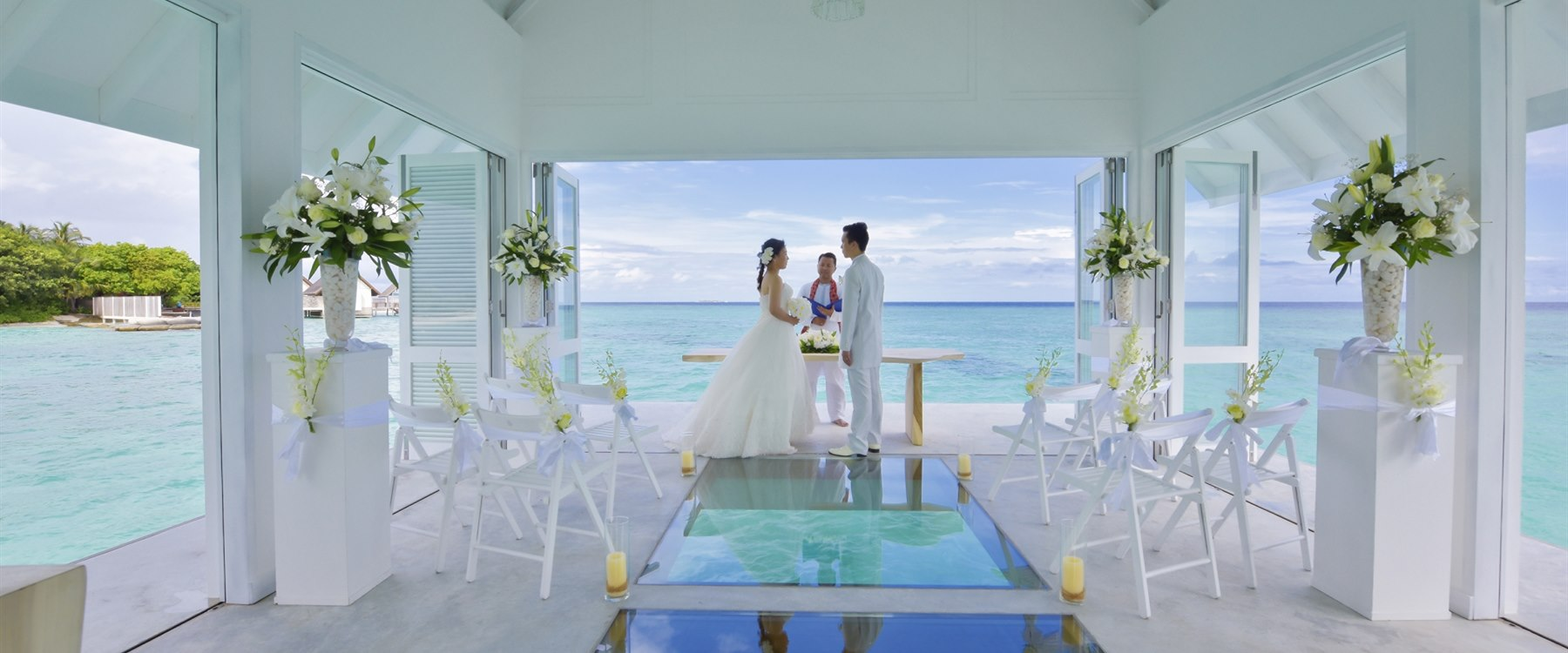 Wedding Pavilion at Four Seasons Resort Maldives at Landaa Giraavaru