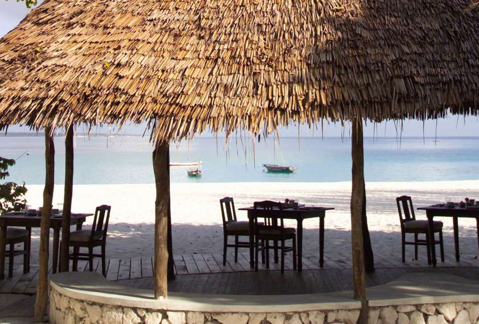 Beachfront at Mnemba Island Lodge
