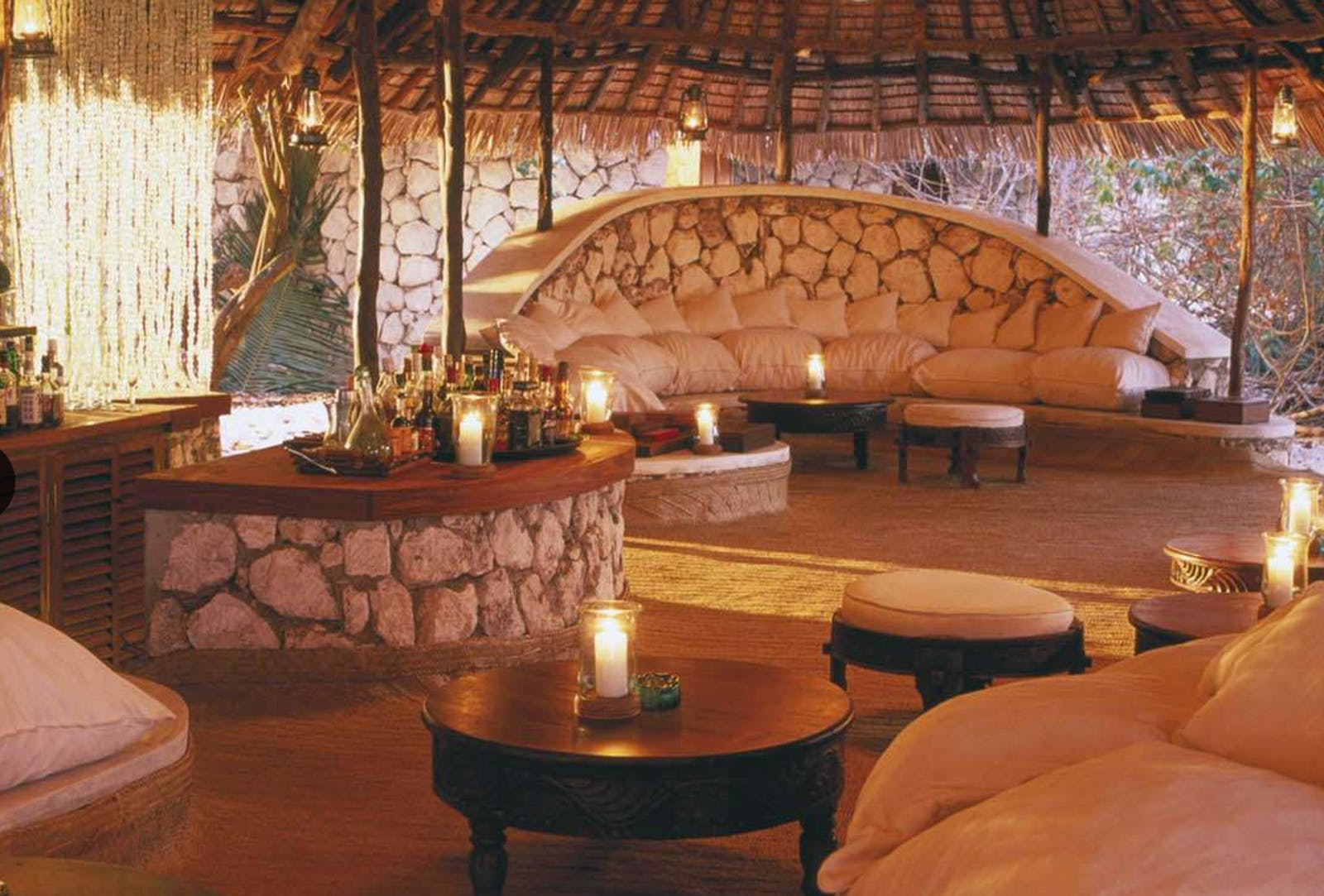 Main Guest Area at Mnemba Island Lodge