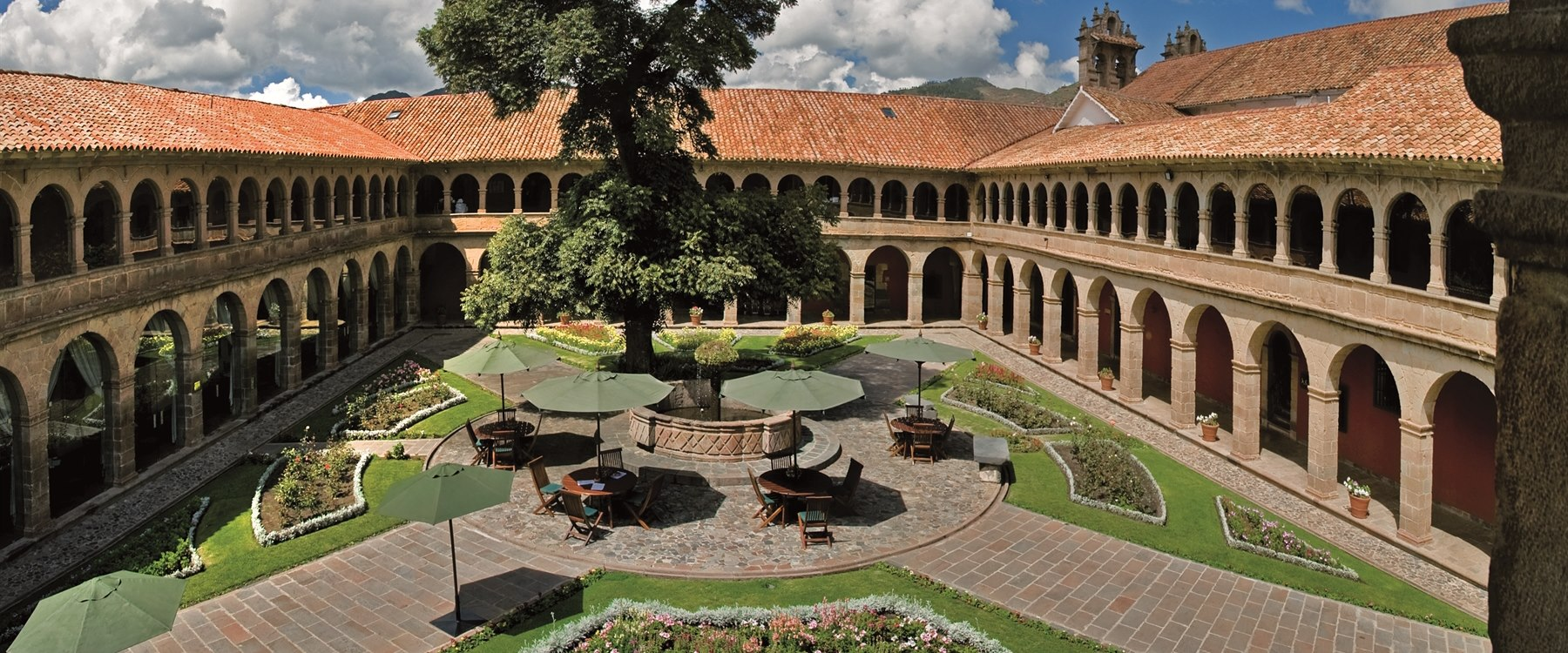 beautiful grounds, Belmond Hotel Monasterio