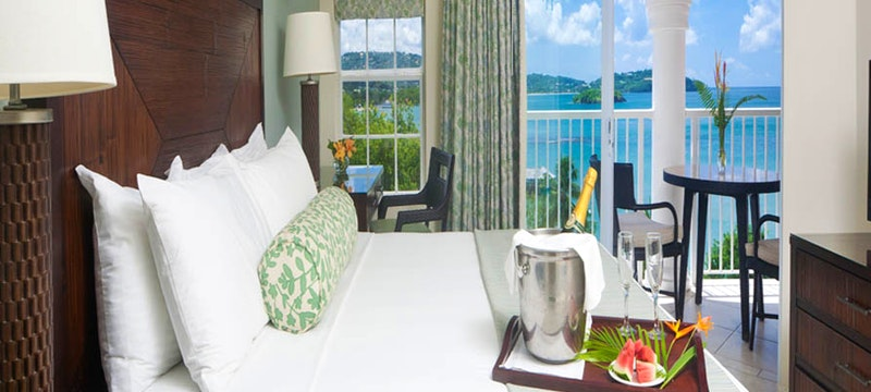 Ocean View Room at St james's Club Morgan Bay, St Lucia