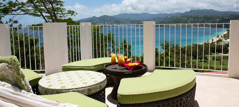 Ocean View balcony at Mount Cinnamon Resort & Beach Club