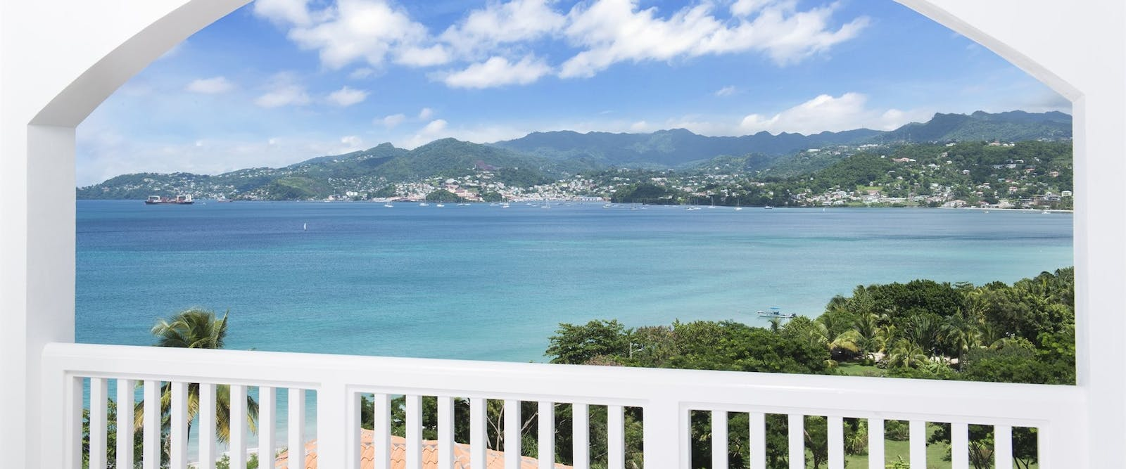 View from Patio at Mount Cinnamon, Grenada