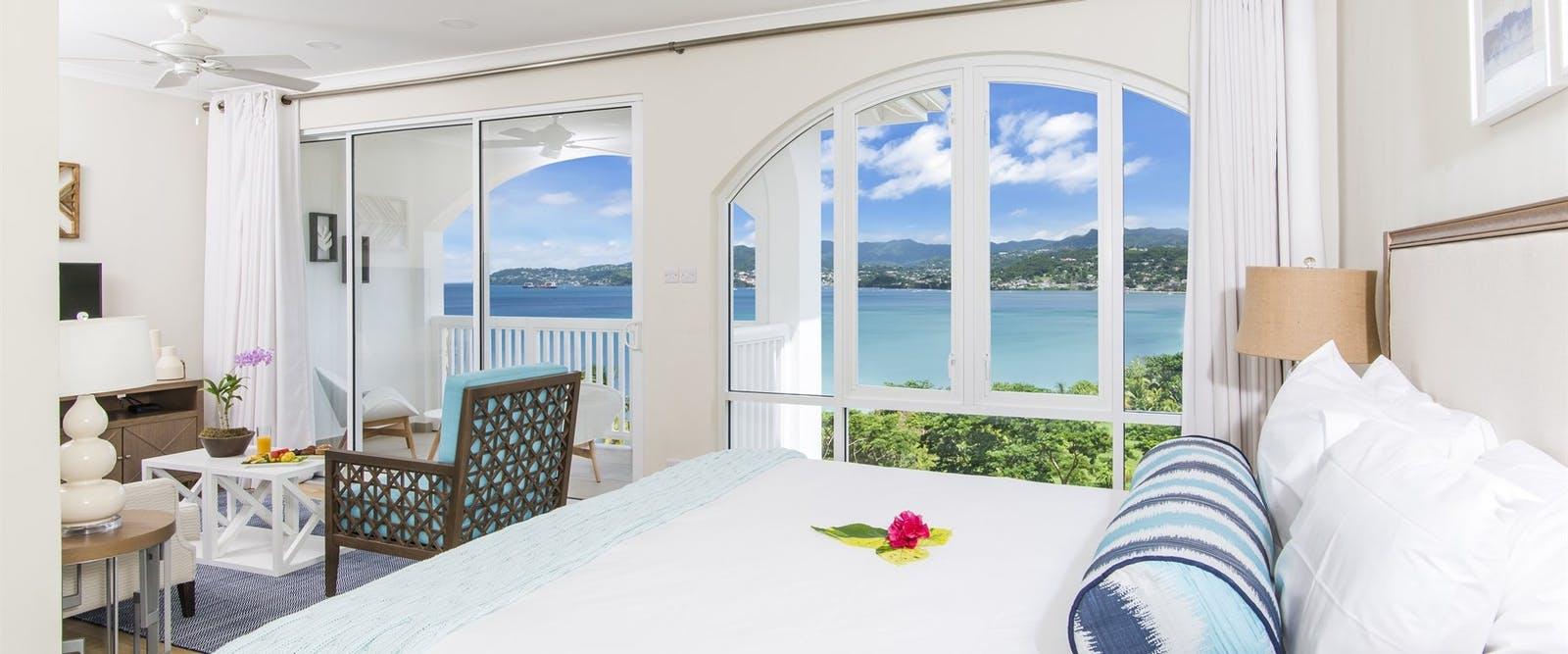 Bedroom Suite at Mount Cinnamon, Grenada