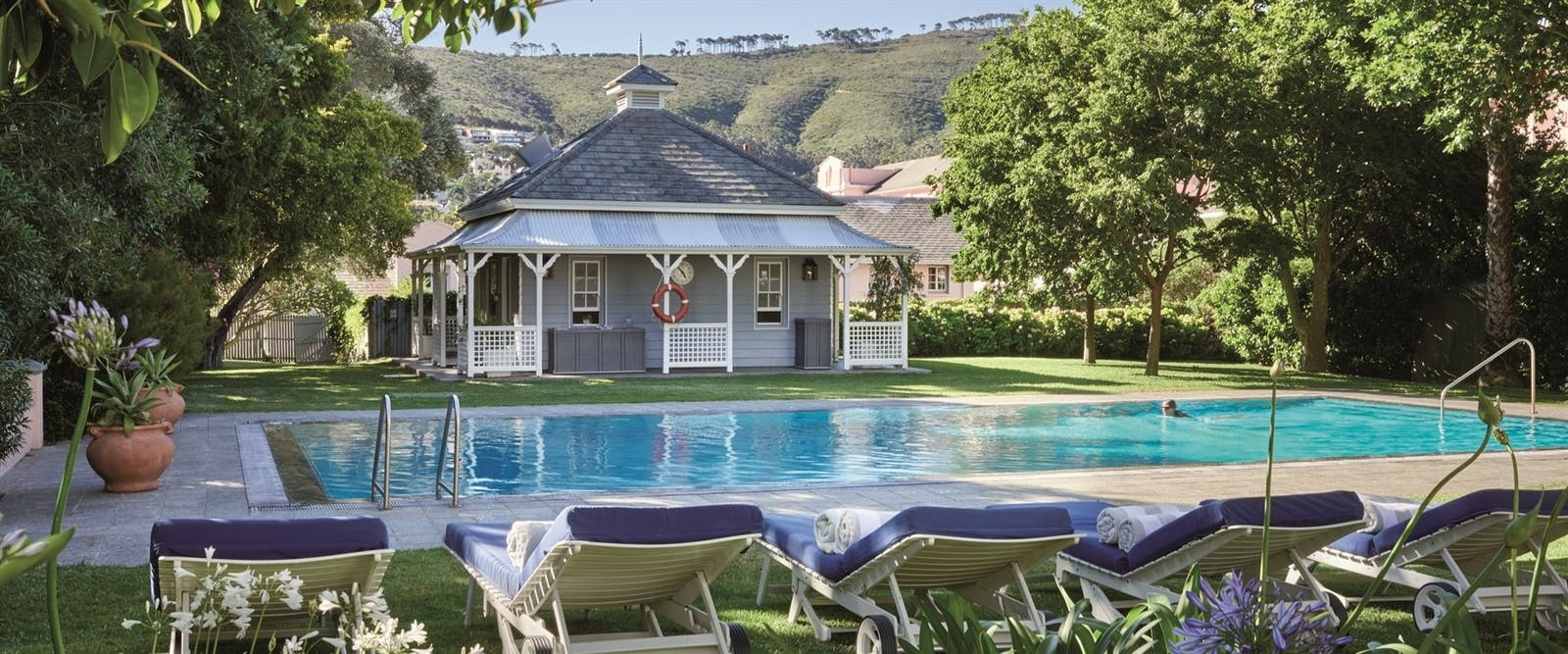 Pool at Belmond Mount Nelson Hotel, Cape Town
