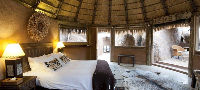 Mini Suite Interior at Mowani Mountain Camp