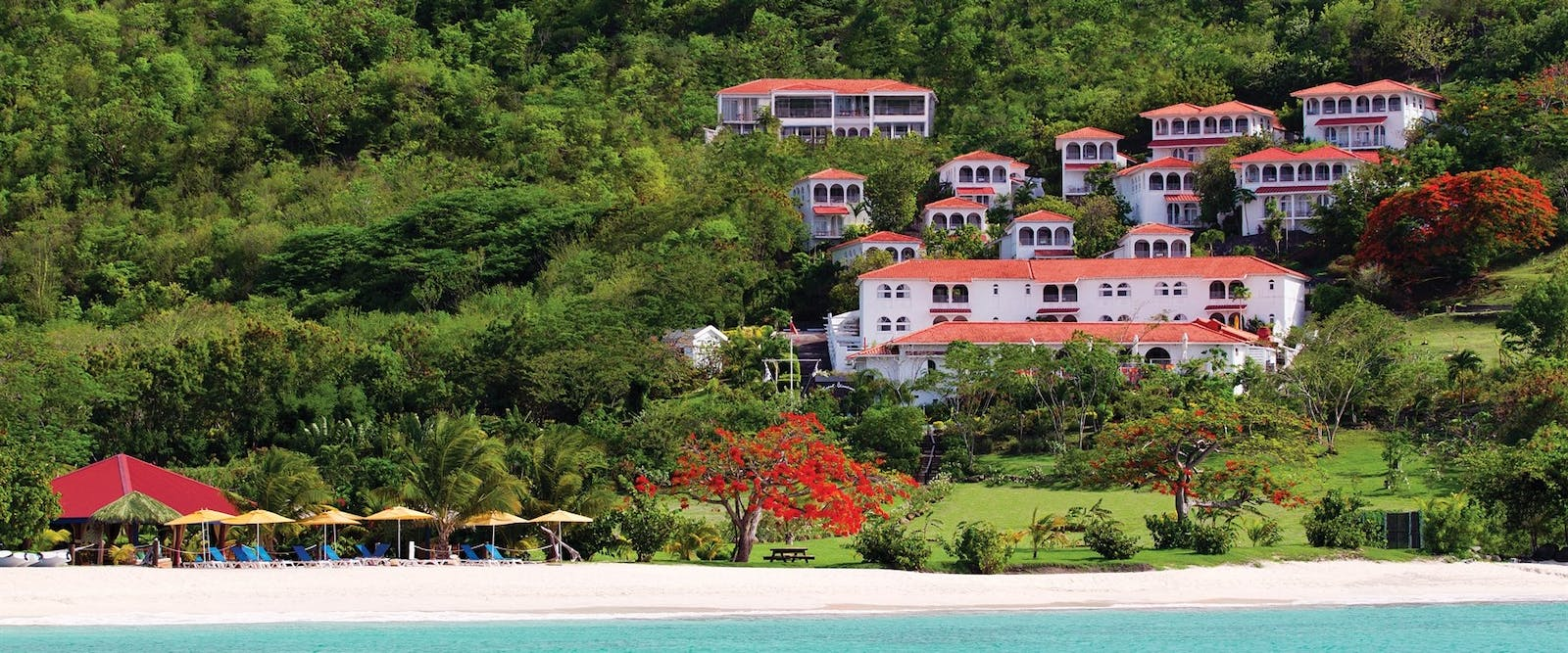 Exterior of Mount Cinnamon, Grenada