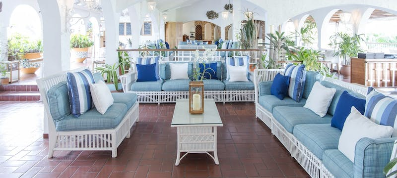 lounge restaurant at mount cinnamon resort  beach club grenada