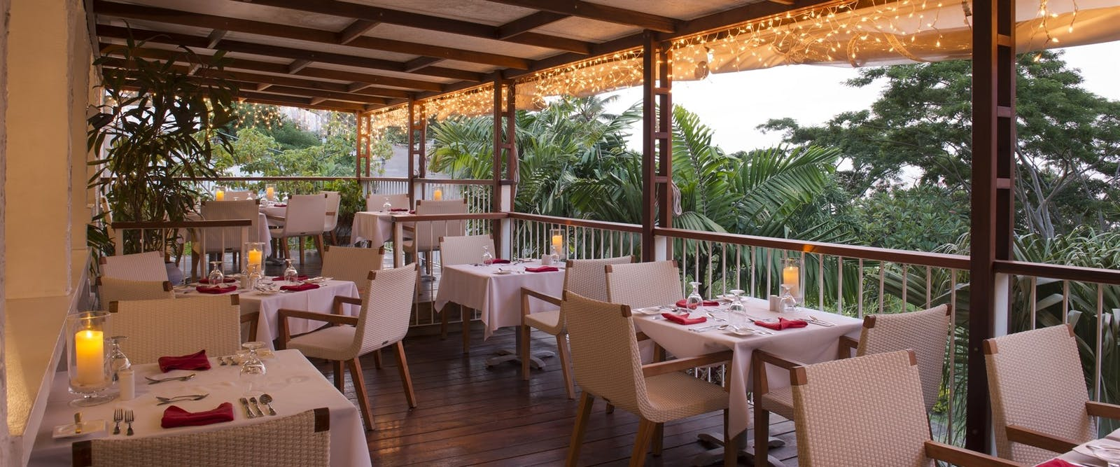 Restaurant at Mount Cinnamon, Grenada