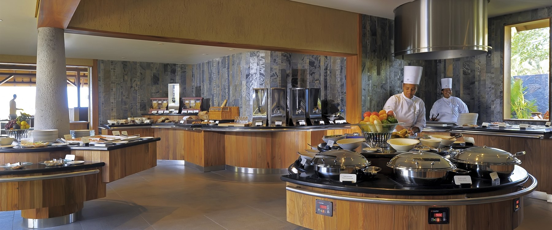 Buffet at Trou Aux Biches Beachcomber Golf Resort & Spa, Mauritius