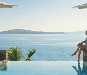 Swimming pool at Mykonos Grand Hotel & Resort