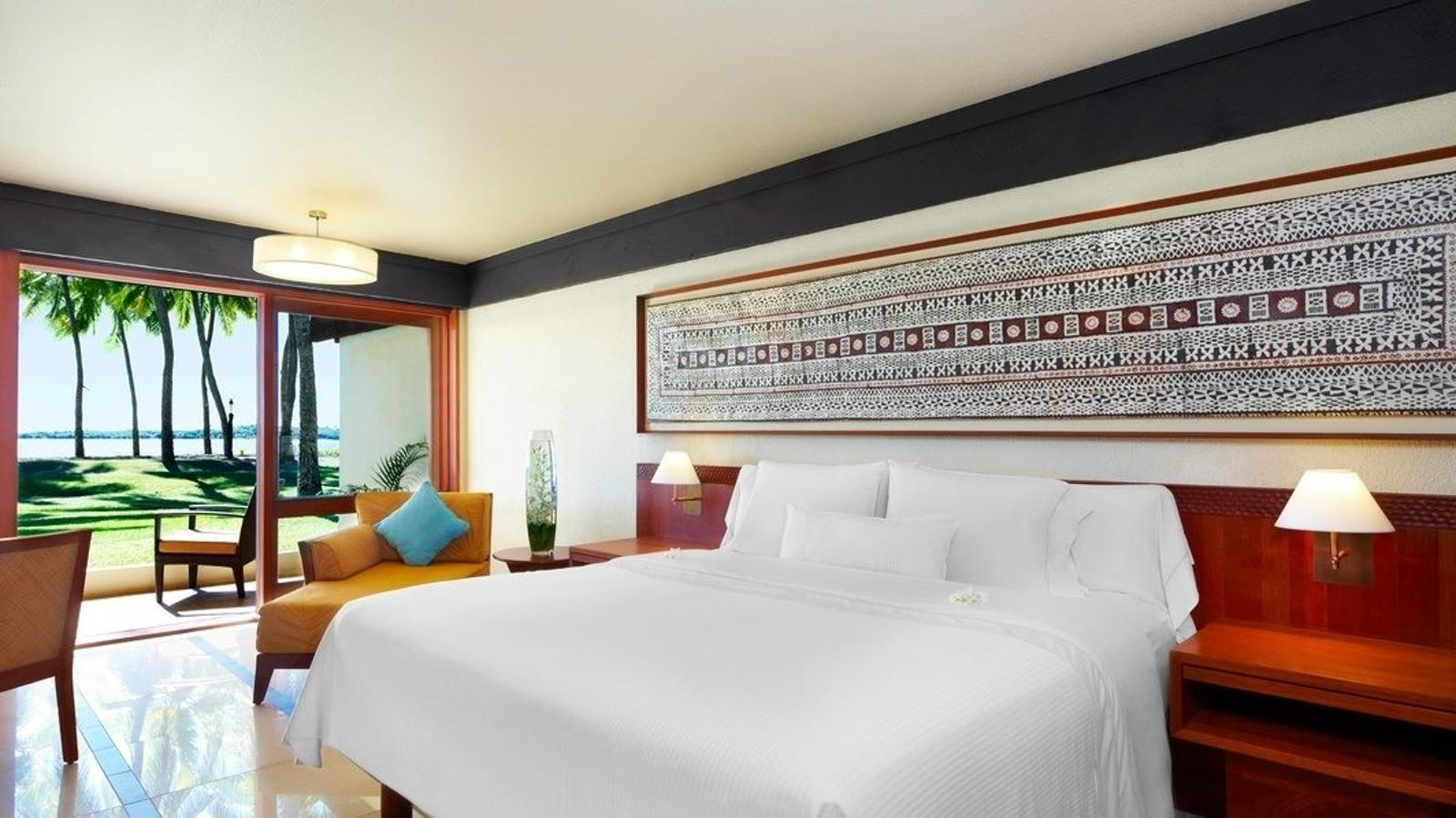 Bedroom at at The Westin Denarau Island Resort & Spa