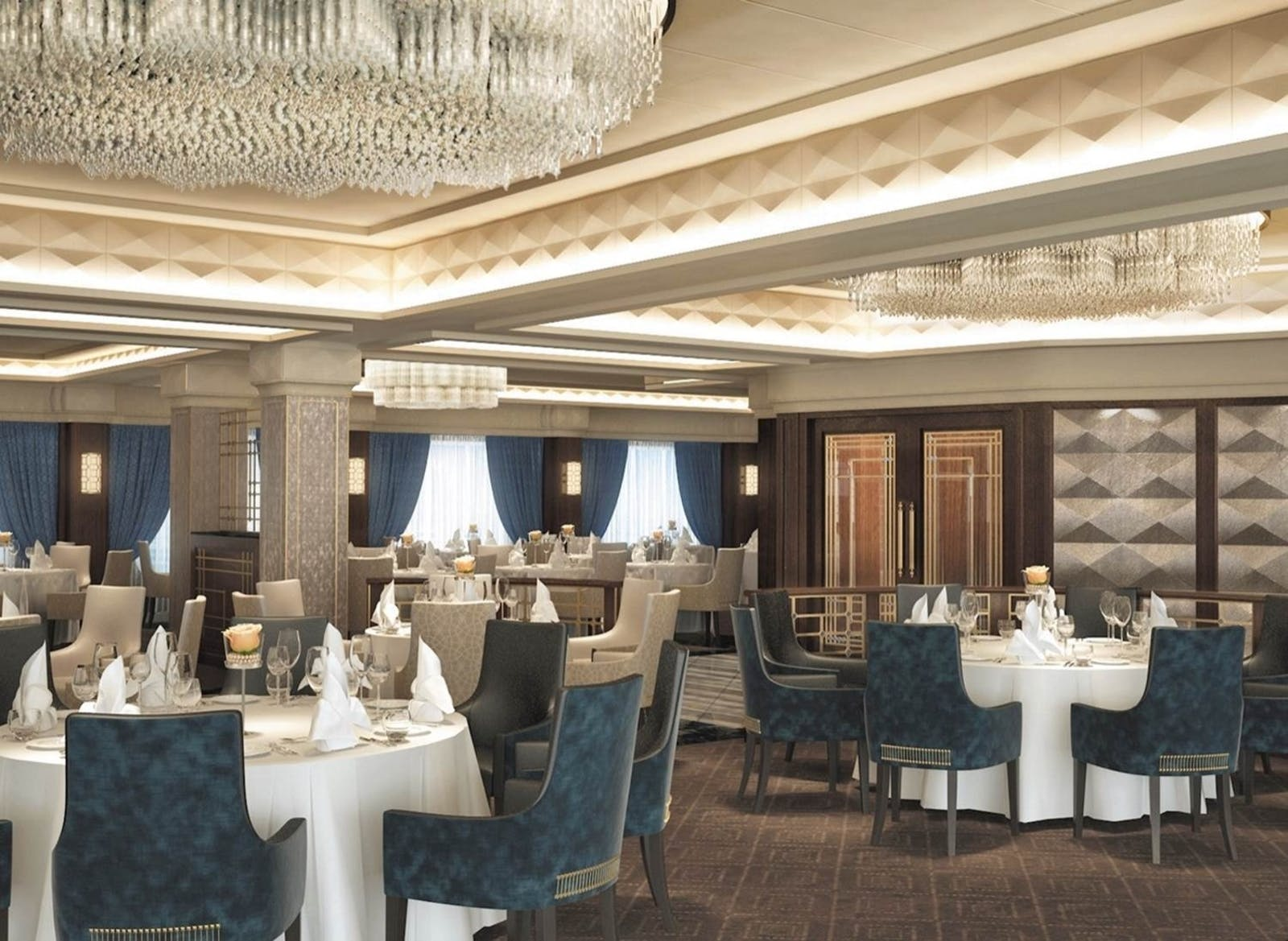 Dining Area on The Navigator Regent Seven Seas