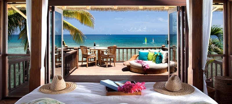 Bali House at Necker Island, British Virgin Islands