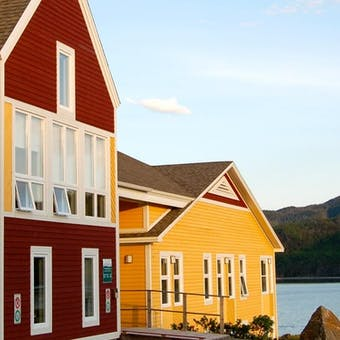 Exterior of Neddies Harbour Inn, Norris Point