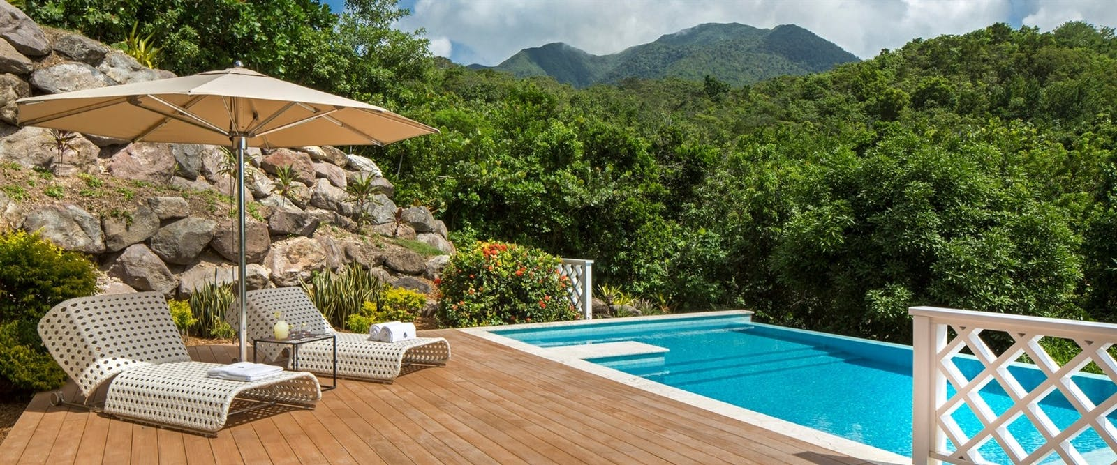 Private Pool at Four Seasons Resort Nevis