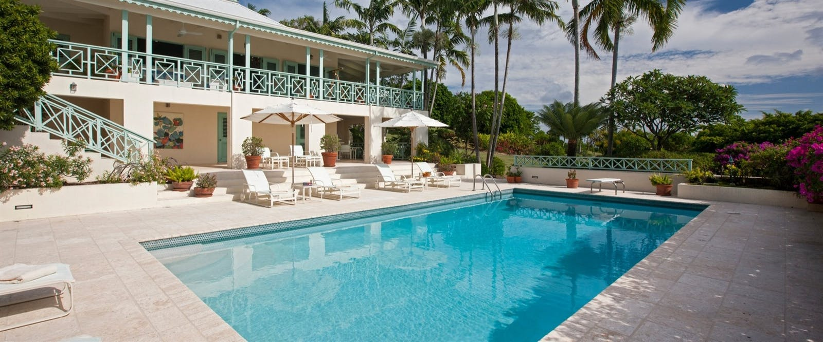 Pool at Four Seasons Resort Nevis