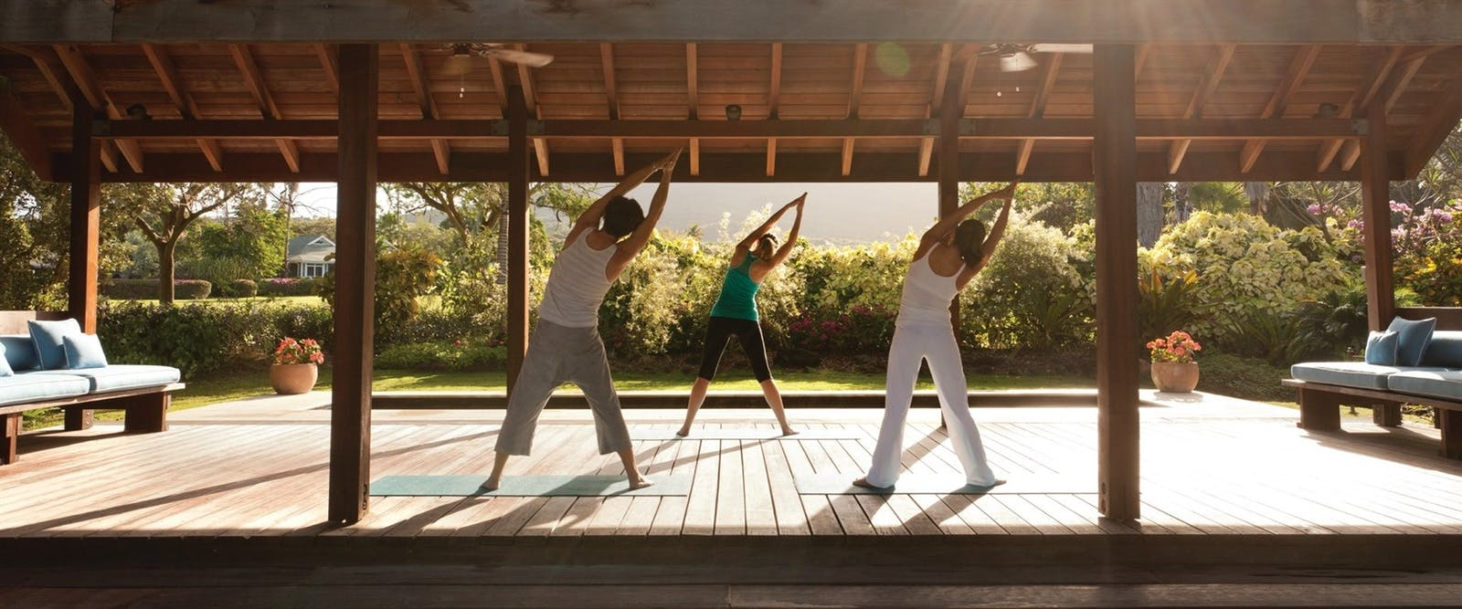 Yoga at Four Seasons Resort Nevis