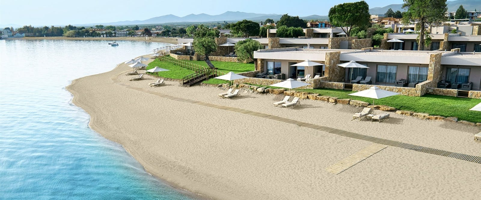 Deluxe Two Bedroom Suite, Beachfront at Ikos Olivia, Halkidiki, Greece