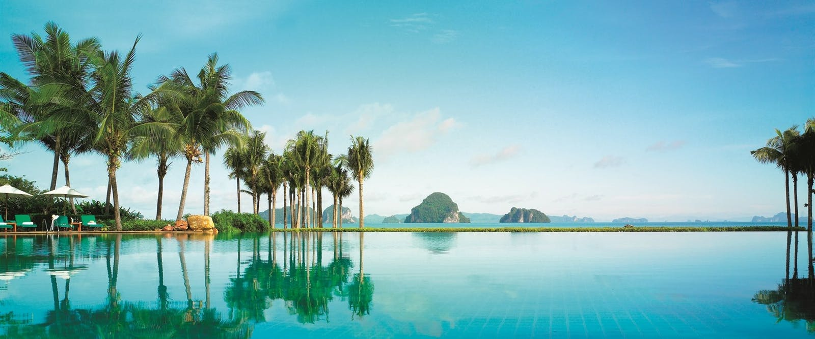 Swimming pool at Phulay Bay - A Ritz Carlton Reserve