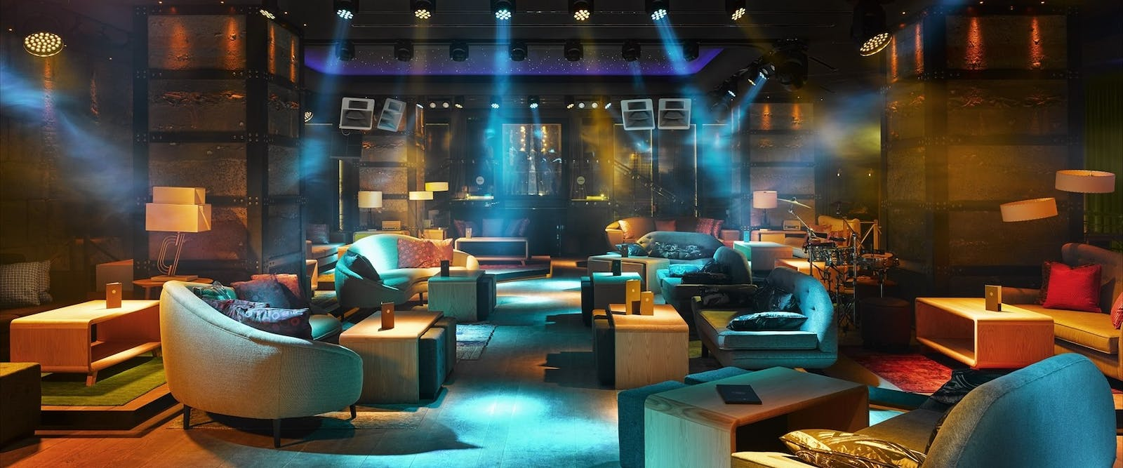 Night Club La Suite at Nobu Marbella, Costa Del Sol, Spain