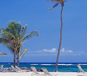 Beach at Nisbet Plantation Beach Club, Nevis