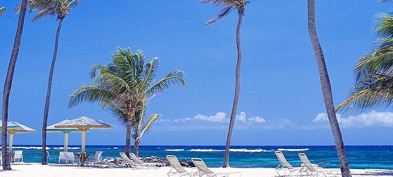 Beach at Nisbet Plantation Beach Club, Nevis