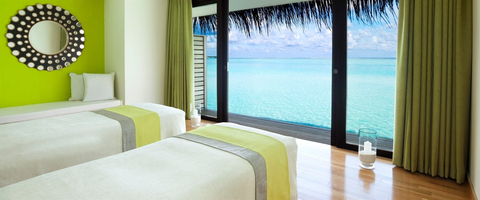 LIME Spa Treatment Room at Niyama Private Islands, Maldives, Indian Ocean